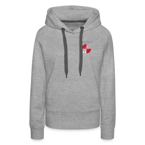 IBRC Pocket Logo with Buckle Up Brutus on Back - Women's Premium Hoodie