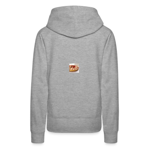peach strawberry upside down cake 80 - Women's Premium Hoodie