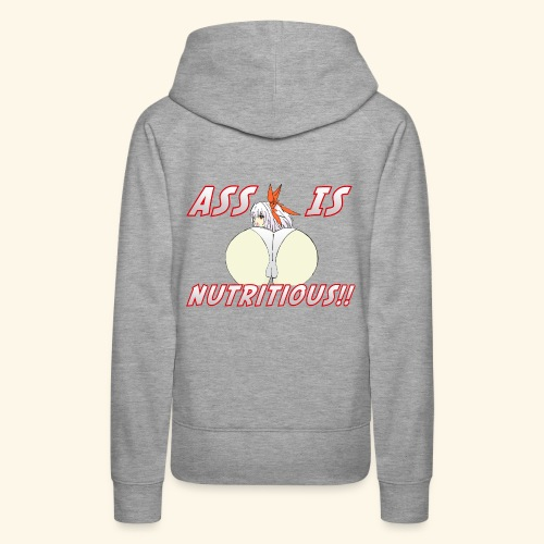 Eating Ass is Nutritious Food Shirt - Women's Premium Hoodie