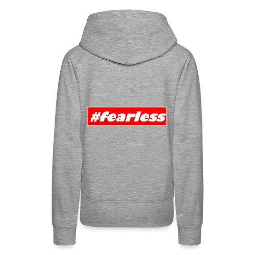 #fearless - Women's Premium Hoodie