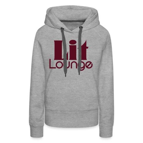 Lit Lounge Logo - Women's Premium Hoodie
