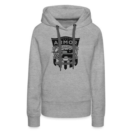 American Armor: Old School - Women's Premium Hoodie