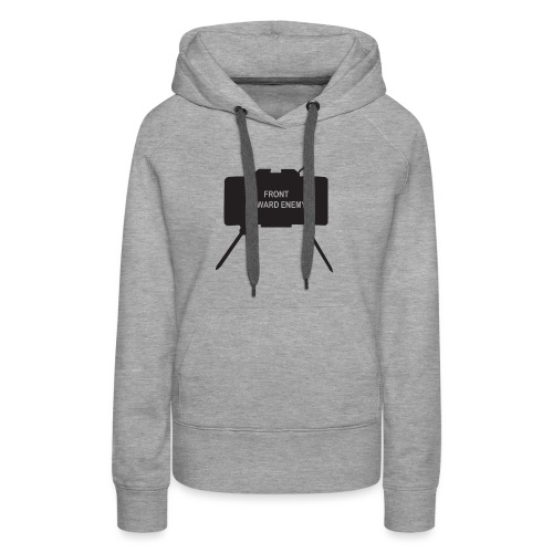Claymore Mine (Minimalist/Dark) - Women's Premium Hoodie