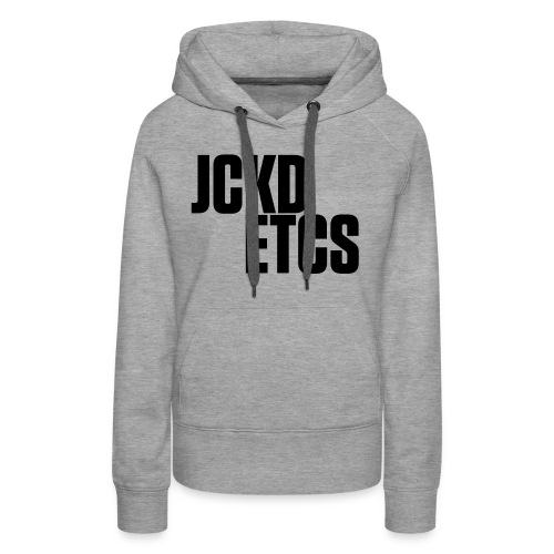 JE_BACK - Women's Premium Hoodie