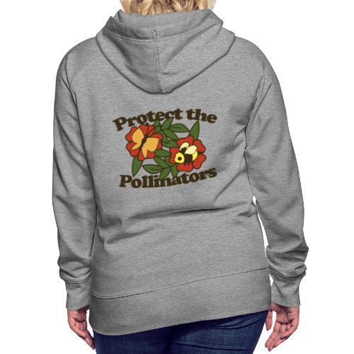 Protect the pollinators - Women's Premium Hoodie