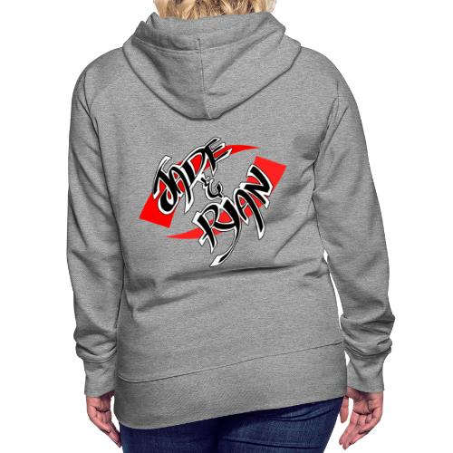 Jade And Ryan - Main Logo - Women's Premium Hoodie