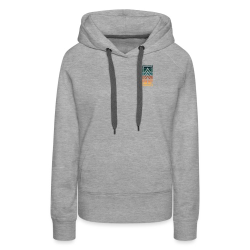 Ventures Belong To The Adventurous || VAN LIFE - Women's Premium Hoodie