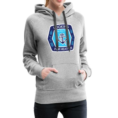 Looking For Heather Stock Logo - Women's Premium Hoodie