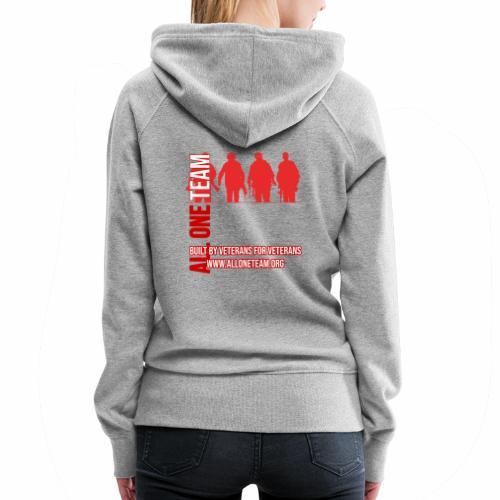 All One Team Sideways Design - Women's Premium Hoodie