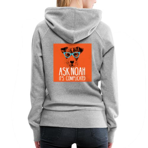 Ask Noah Christian Funk - Women's Premium Hoodie
