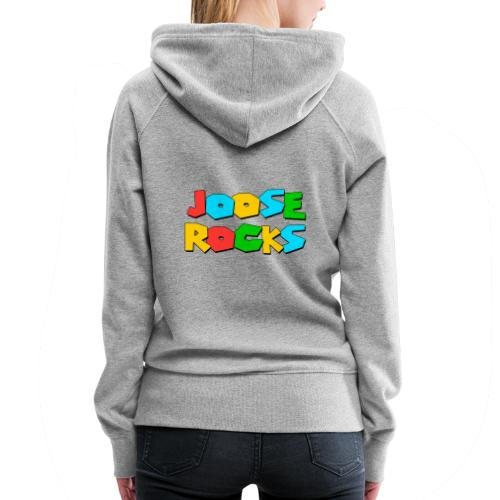 Super Joose Rocks - Women's Premium Hoodie
