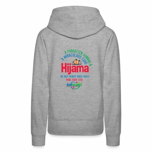 Hijama/Cupping/ Cupping therapy/ BD Health - Women's Premium Hoodie