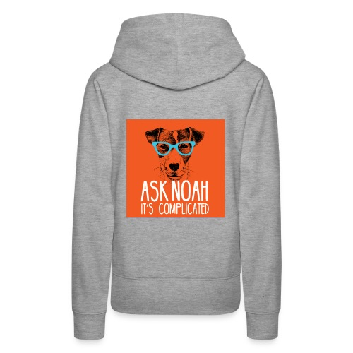 Ask Noah Christian Funk - Women's Premium Hoodie