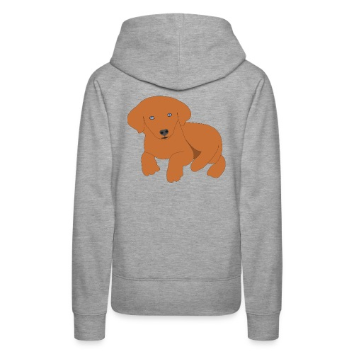 Golden retriever dog - Women's Premium Hoodie
