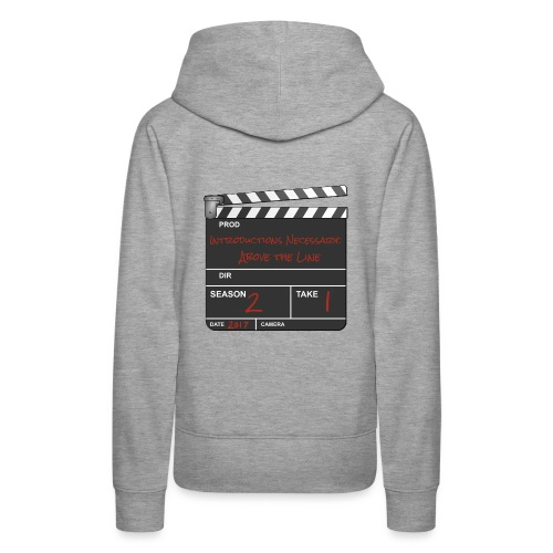 IN: Above The Line Logo - Women's Premium Hoodie