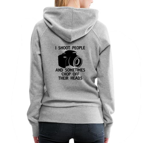 Photography Shoot People Cut Off Face - Women's Premium Hoodie
