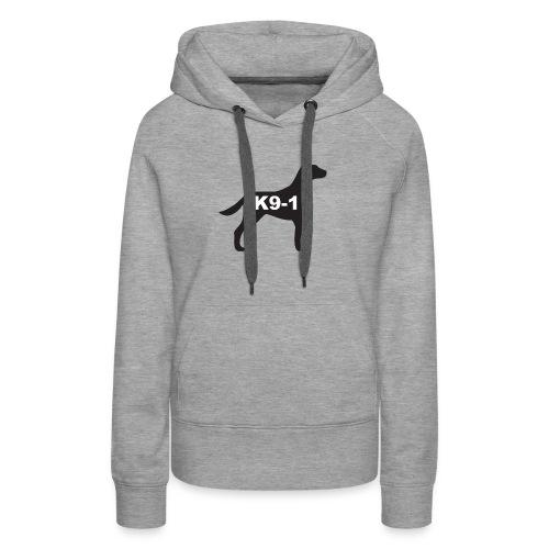 K9-1 logo - Women's Premium Hoodie