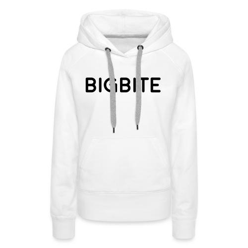 BIGBITE logo red (USE) - Women's Premium Hoodie