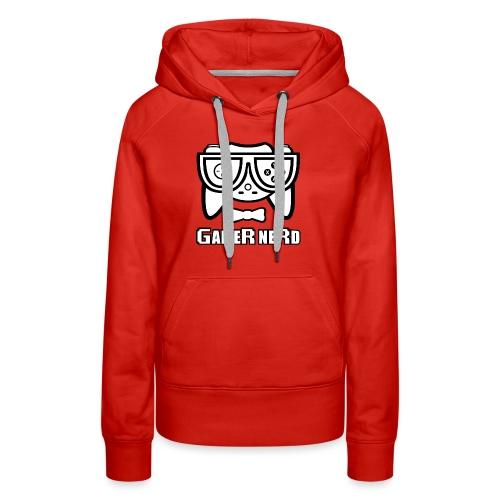 Nerds - Gamer Nerd SD - Women's Premium Hoodie
