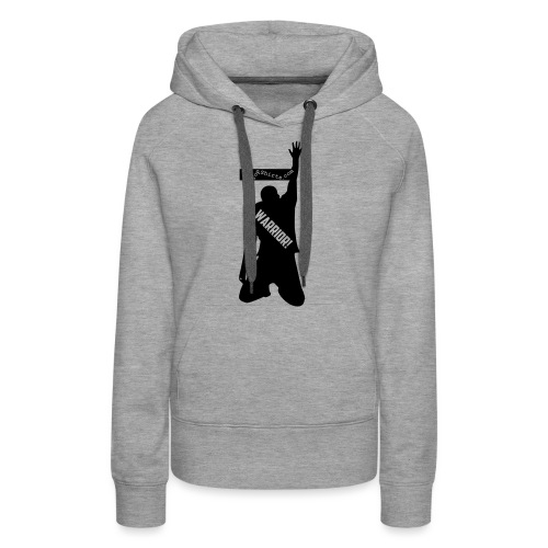 warrior shirt front - Women's Premium Hoodie