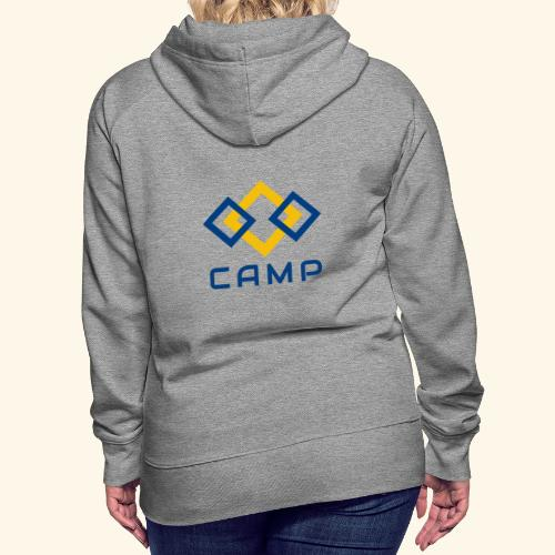 CAMP LOGO and products - Women's Premium Hoodie