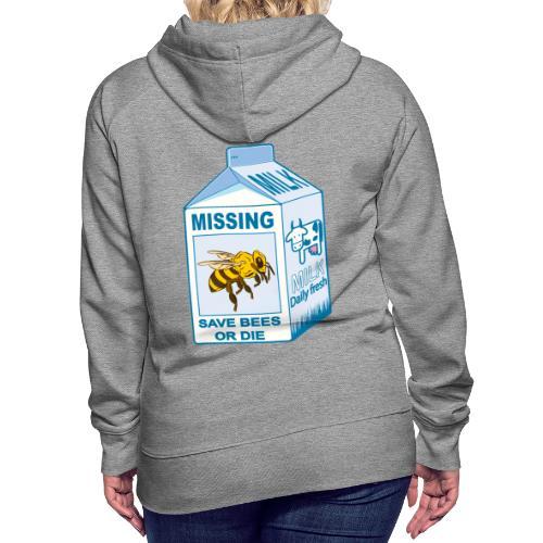 Missing Bees - Women's Premium Hoodie