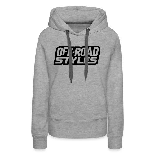 Snowmobile Warning - Women's Premium Hoodie