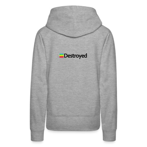 Polaroid Destroyed - Women's Premium Hoodie
