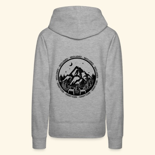 Bellingen Mountain Ranges - Women's Premium Hoodie