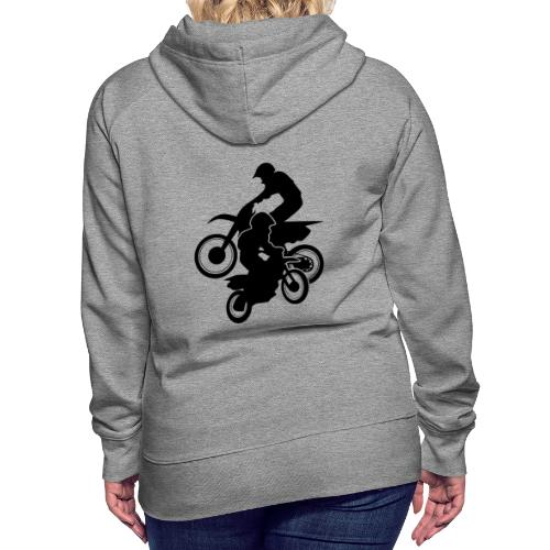 Motocross Dirt Bikes Off-road Motorcycle Racing - Women's Premium Hoodie