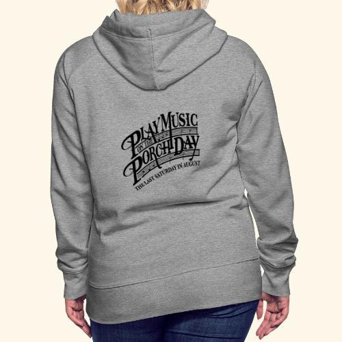 shirt3 FINAL - Women's Premium Hoodie