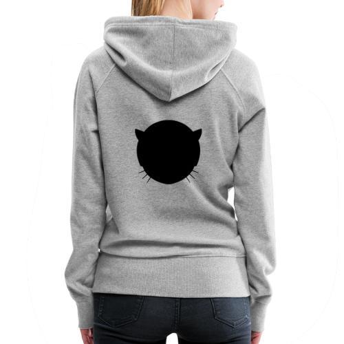 Musetta Minimal Black collection - Women's Premium Hoodie