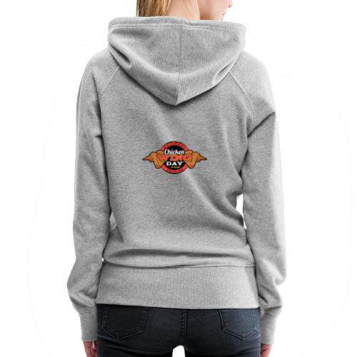 Chicken Wing Day - Women's Premium Hoodie