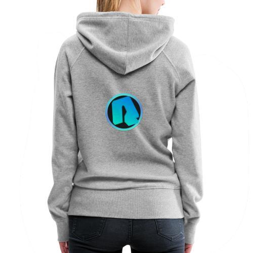 Channel Logo - qppqrently Main Merch - Women's Premium Hoodie