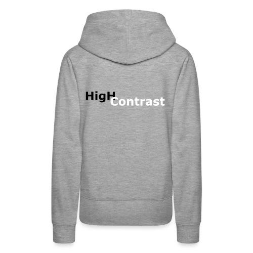 High Contrast - Women's Premium Hoodie