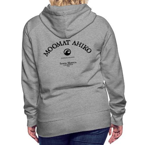 Moomat Ahiko classic black 1 - Women's Premium Hoodie