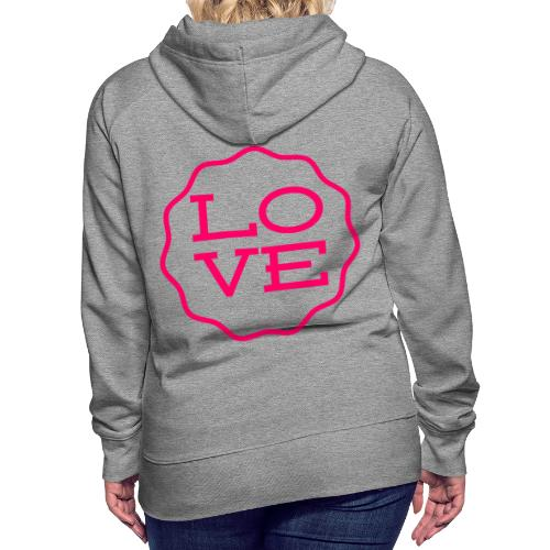 love design - Women's Premium Hoodie
