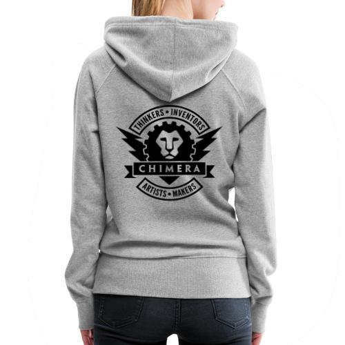 Chimera Logo (Dark) - Women's Premium Hoodie