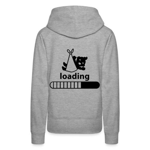 loading baby incoming - Women's Premium Hoodie