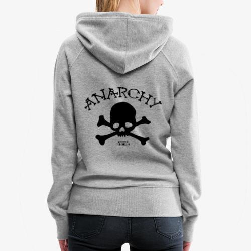 Anar Skull black - Women's Premium Hoodie