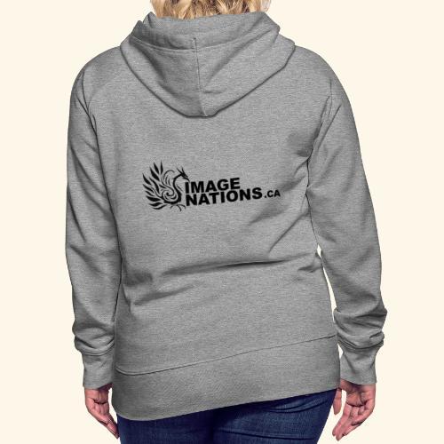 image nation Logo - Women's Premium Hoodie