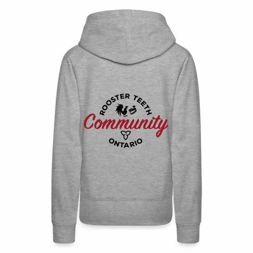 Rooster Teeth Ontario Community - Women's Premium Hoodie