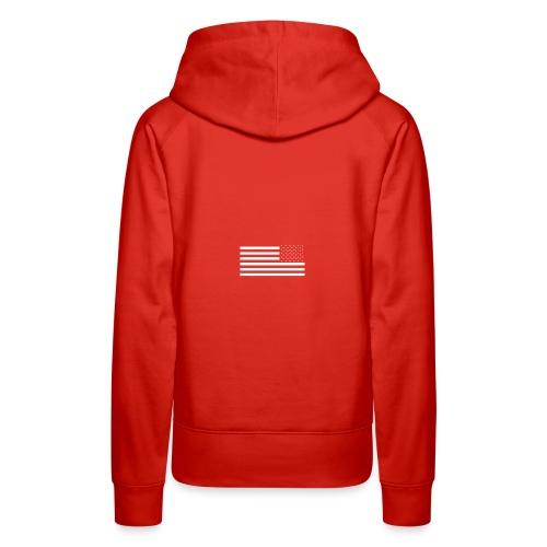 Reverse Flag - Women's Premium Hoodie