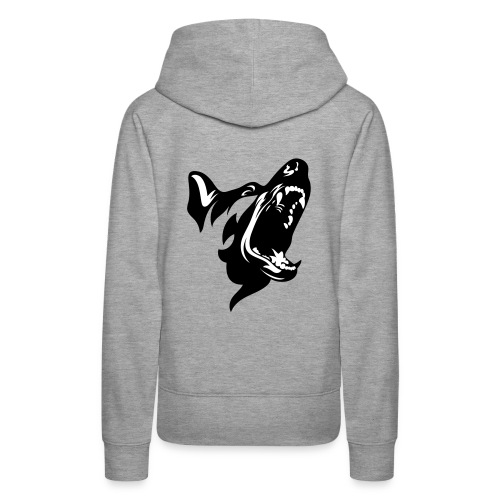 German Shepherd Dog Head - Women's Premium Hoodie