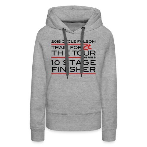 2018 TfT 10 Stage Finisher - Women's Premium Hoodie