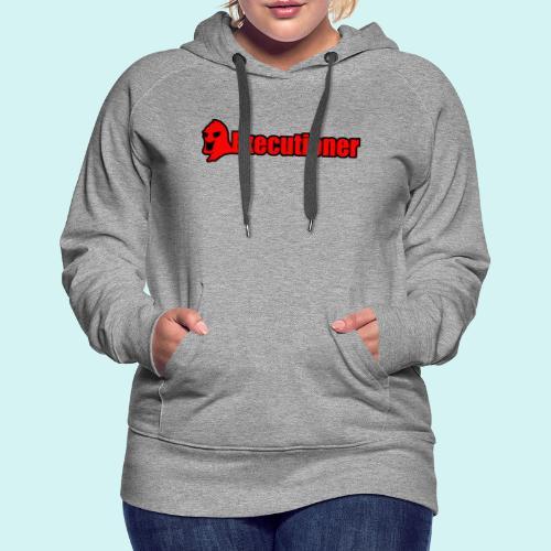 Executioner basic line logo - Women's Premium Hoodie