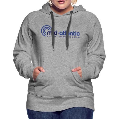 Mid Atlantic Wireless logo - Women's Premium Hoodie