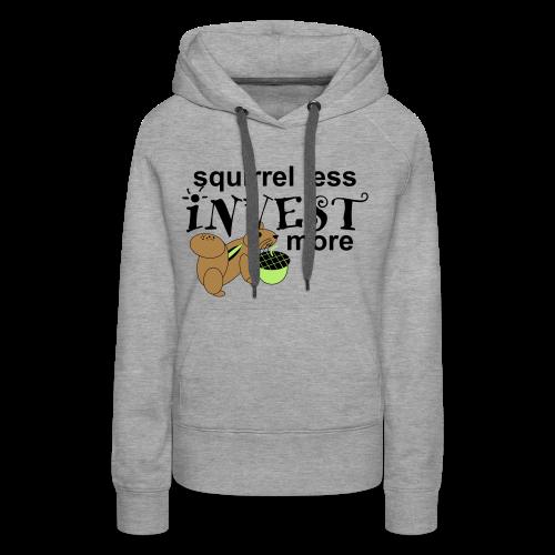 Investing Squirrel - Women's Premium Hoodie