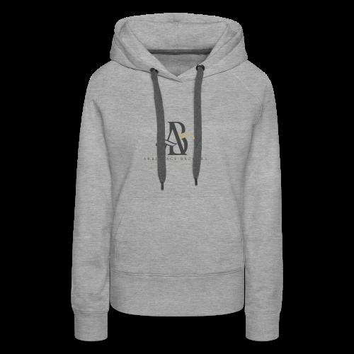 Arbitrage Graphite Logo - Women's Premium Hoodie
