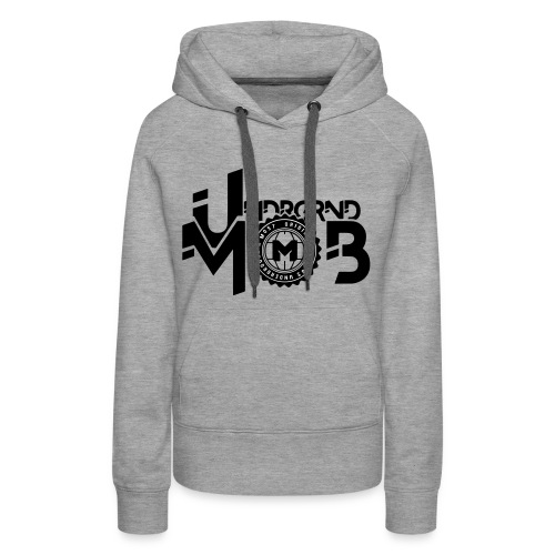 UMOB Black - Women's Premium Hoodie